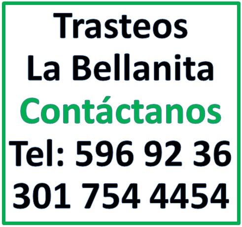 servicios mudanzas en Medellin telefono trasteos bellanita